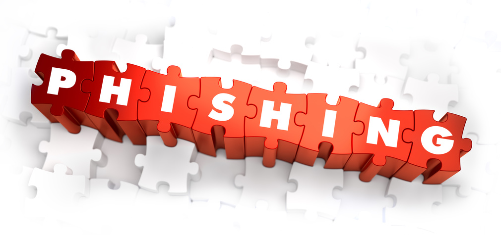 Puzzle en 3D con la palabra Phishing