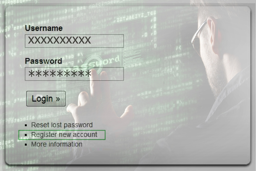 Un buen username y password son fundamentales para una correcta protección de datos