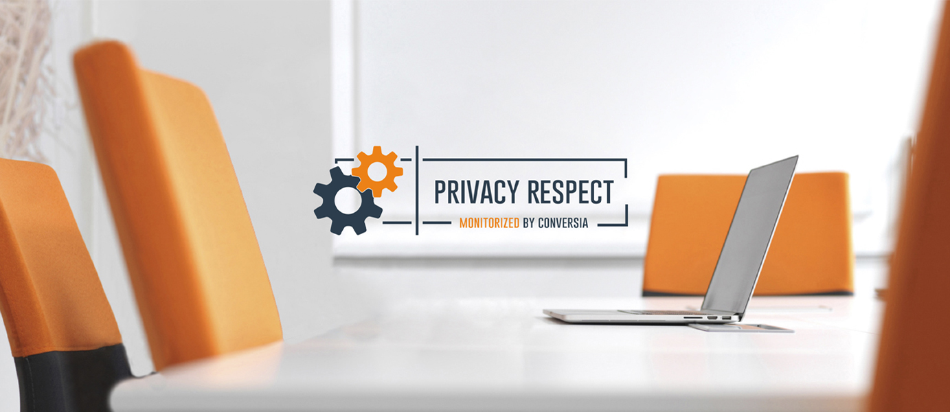 Distintivo Privacy Respect - Conversia