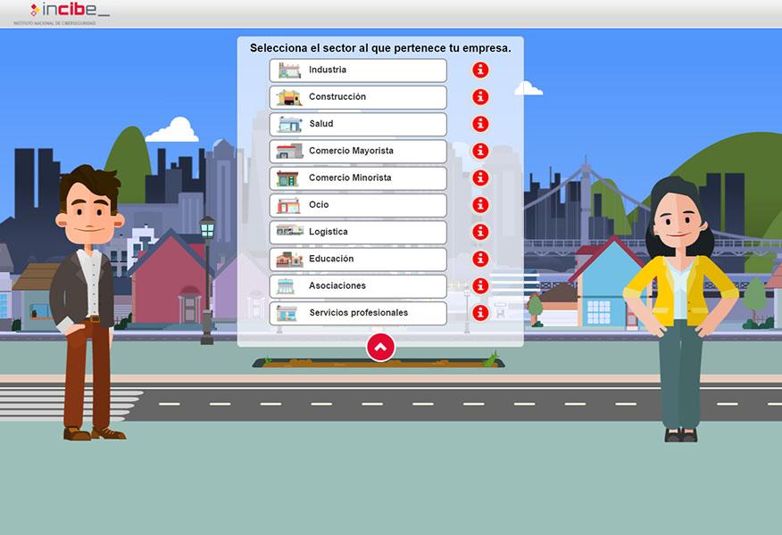 INCIBE crea vídeos interactivos para promover la ciberseguridad