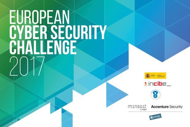 Cartel del European Ciber Security Challenge 2017