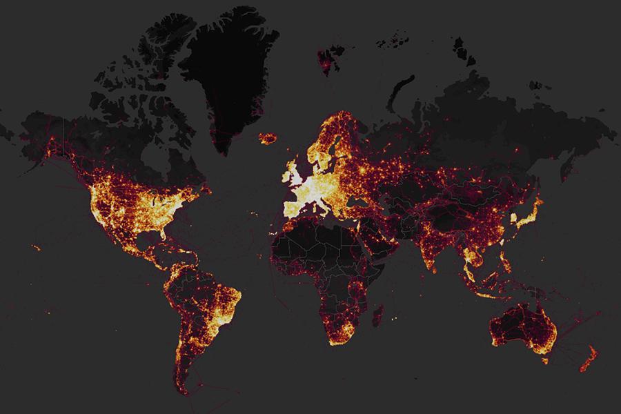 Los militares occidentales en problemas después de publicarse este mapa de Strava