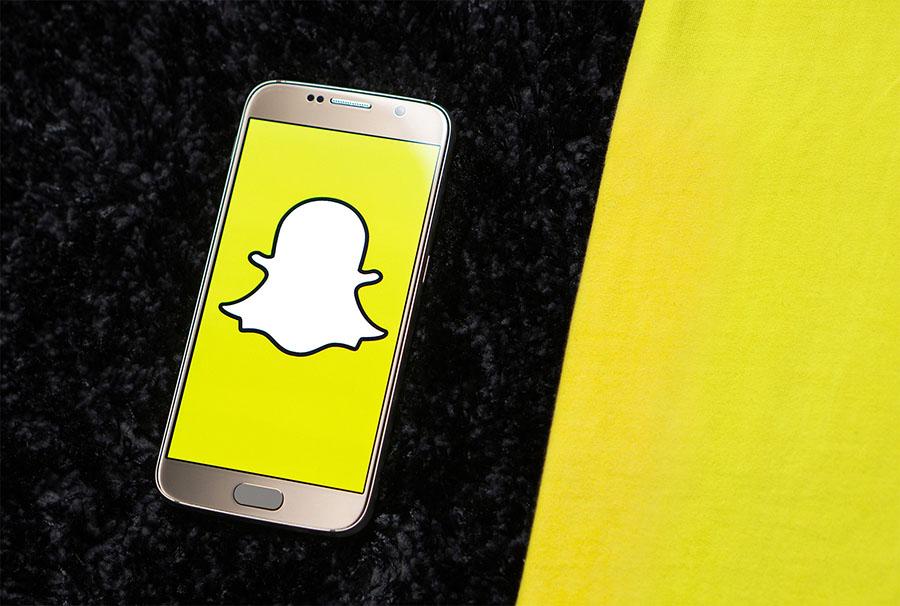 Snapchat para ilustrar post de conversia denuncias