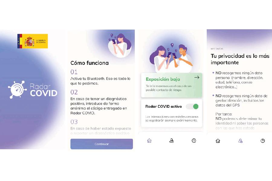 La app Radar Covid ya está plenamente operativa en toda España